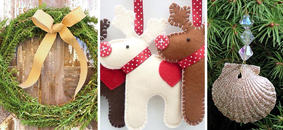 Decorazioni natalizie idee alternative e fai da te roba for Composizioni natalizie fai da te