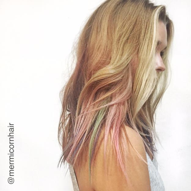 Capelli da Sirena? Ora è Possibile con la Nuova Tecnica del Fluid Hair Painting!