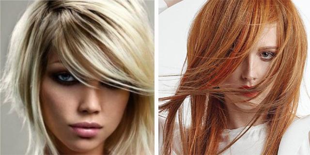 Taglio capelli sfilato medio lungo