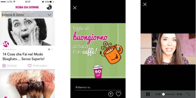 Tanti contenuti da condividere e tutorial a portata di smartphone