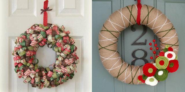 Ghirlande natalizie fai da te 4 proposte roba da donne - Addobbare le finestre per natale ...