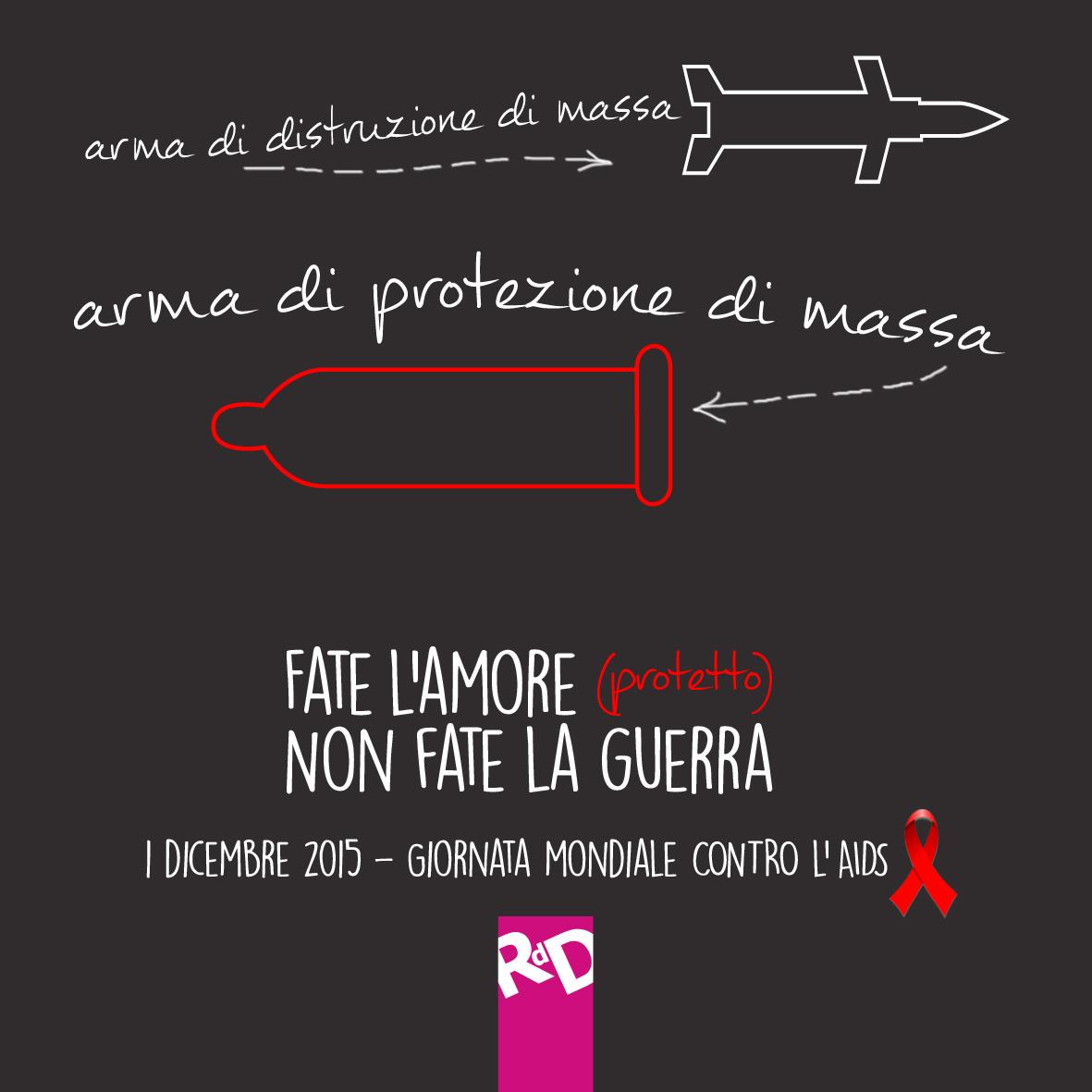 Roba da Donne per la Giornata Mondiale per la lotta all'AIDS