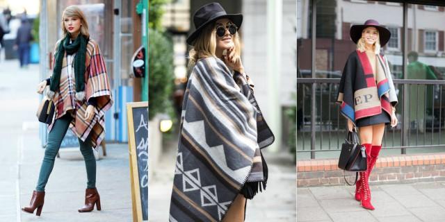 Tendenze Moda Inverno: Torna il Poncho, Ecco Come Abbinarlo!
