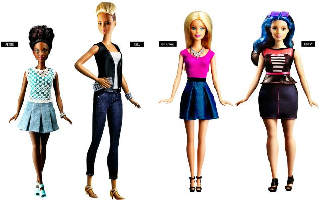 nuove barbie fashionistas
