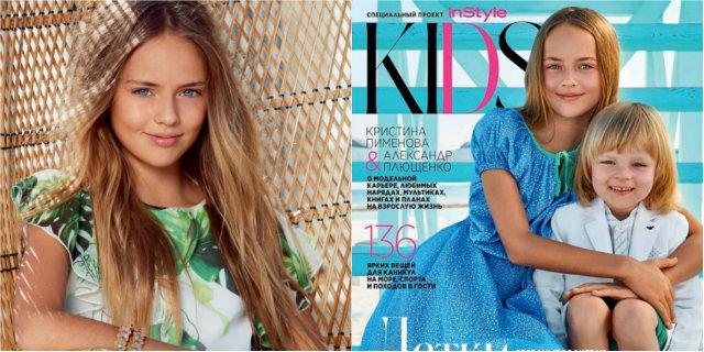 Kristina, baby modella di 11 anni con contratto da top model, è bersaglio di commenti a sfondo hot