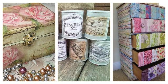 D coupage decorare con stile e originalit roba da donne - Rinnovare porte interne tamburate ...
