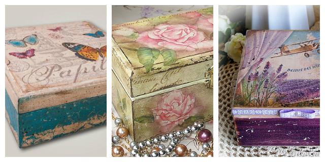D coupage decorare con stile e originalit roba da donne - Decoupage su mobili in legno ...