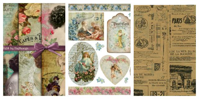 D coupage decorare con stile e originalit roba da donne for Carta decoupage