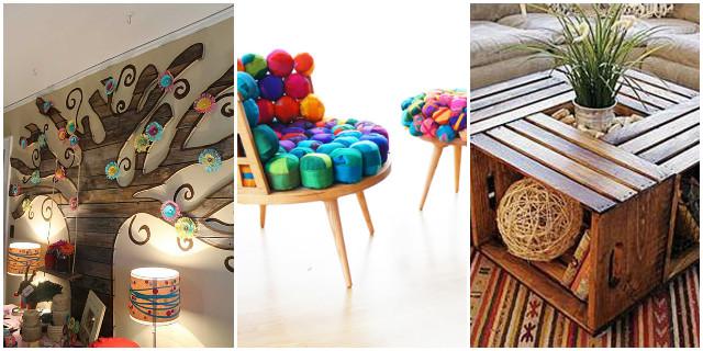 Riciclo creativo di carta stoffa e legno roba da donne for Arredo di recupero
