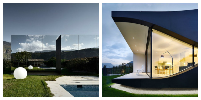 Ville moderne casa degli specchi Bolzano