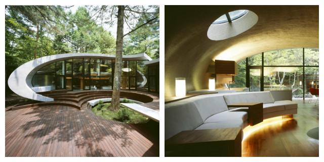 Ville moderne Shell house