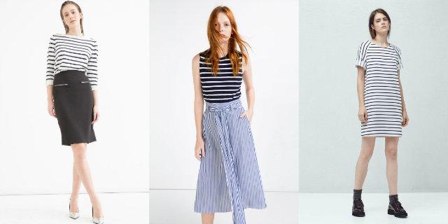 Abbigliamento casual: trend righe