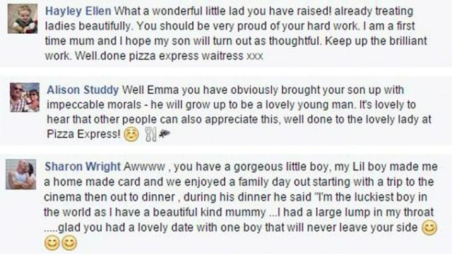I commenti al post di Emma sulla giornata di San Valentino