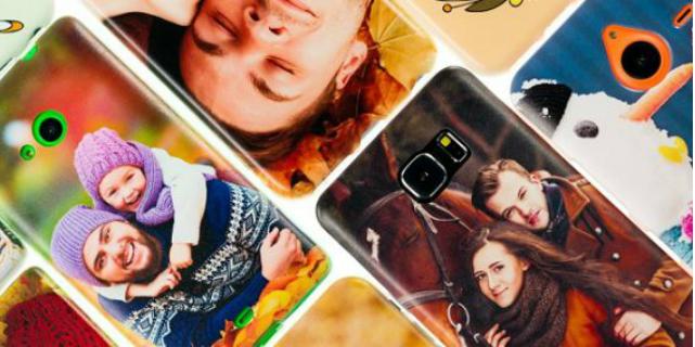 cover smartphone con nostra foto