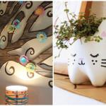 Riciclo creativo di carta, stoffa e legno per una casa più green e trendy!