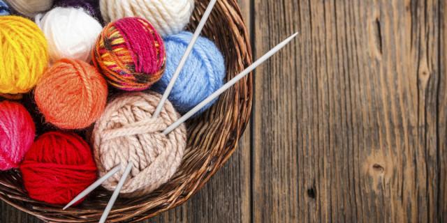 Gomitoli per lavorare a maglia