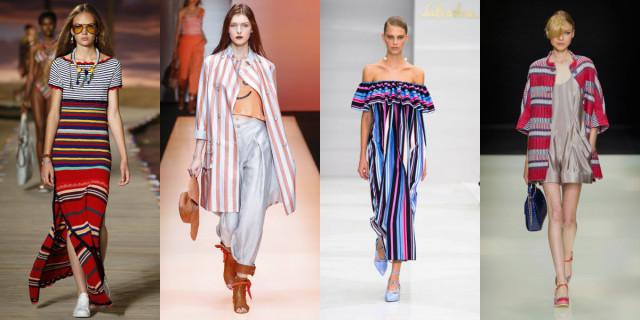 Righe moda primavera estate 2016