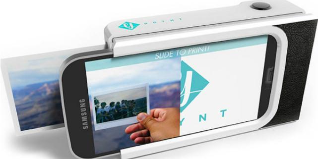 prynt cover trasforma smartphone in polaroid