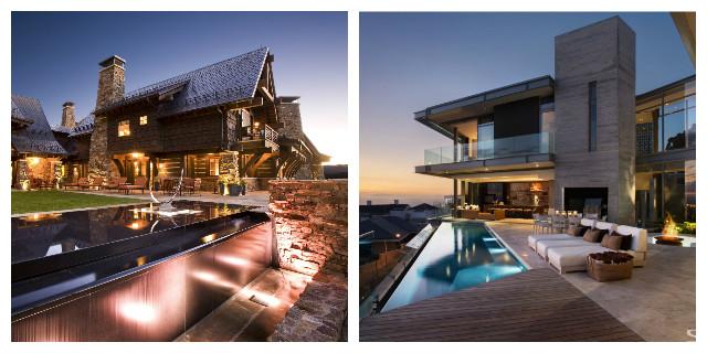 Ville moderne di lusso 7 case da sogno roba da donne for Belle case con piscine