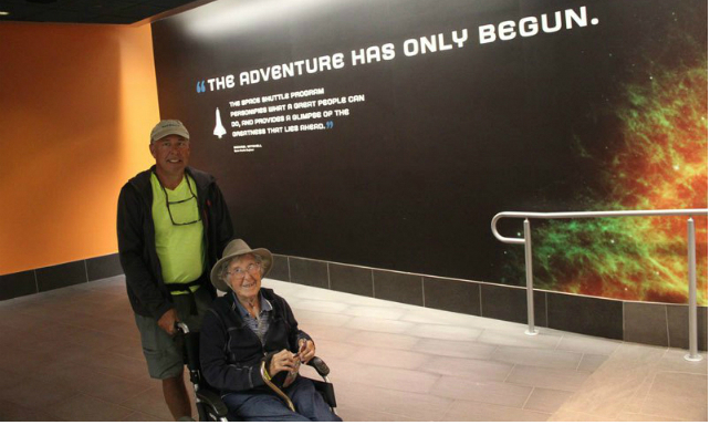 donna 90 anni sceglie viaggio avventuroso