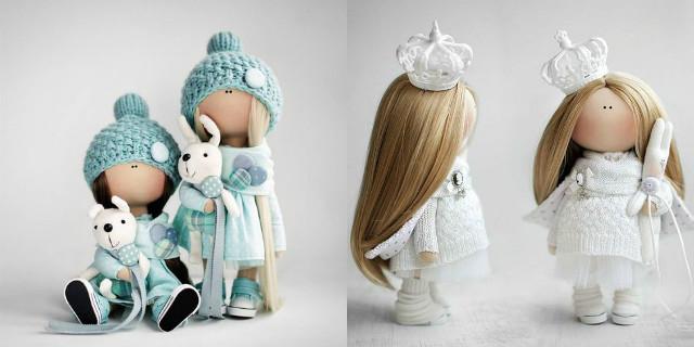 bambole di stoffa fai da te