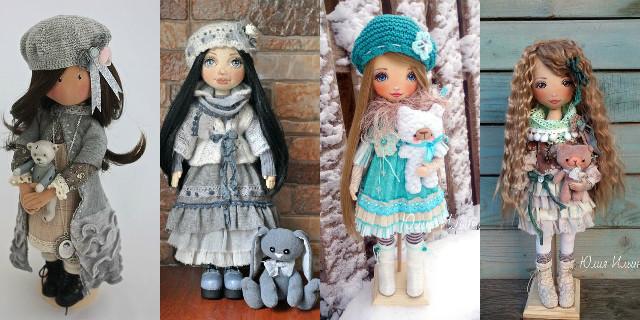 Favorito Bambole di Pezza fai da te - Roba da Donne NZ76