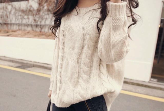Maglione infeltrito di cashmere