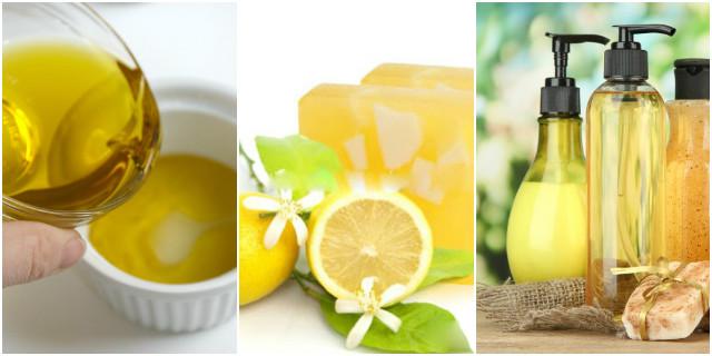 Sapone fatto in casa semi di pompelmo e limone