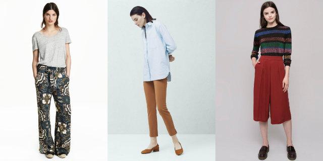 I pantaloni per l'abbigliamento casual