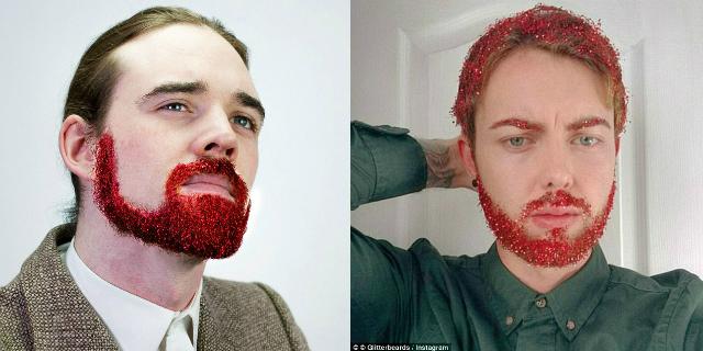 Tornano le Barbe Glitterate... Ma Qualcuno Ne Sentiva Davvero la Mancanza?