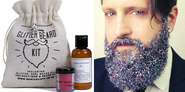 kit barbe glitterate