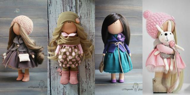 Vestiti per bambole di pezza