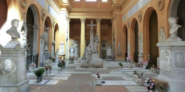 luoghi da visitare a Bologna cimitero della certosa
