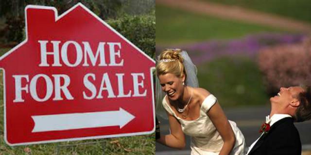Scherzi matrimonio casa in vendita