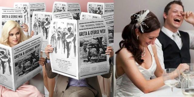 f224676bfbfc Scherzi per il matrimonio  idee originali - Roba da Donne
