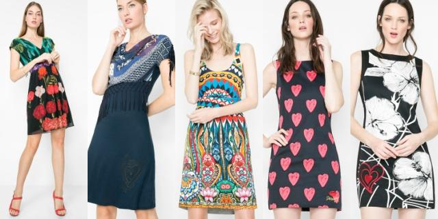 Desigual vestiti primavera estate 2016