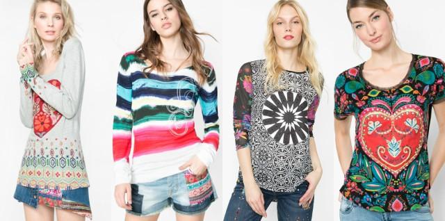 Desigual magliette primavera estate 2016