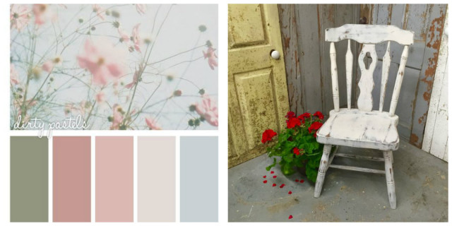 Trendy shabby chic fai da te materiali e colori with for Oggetti per la casa economici
