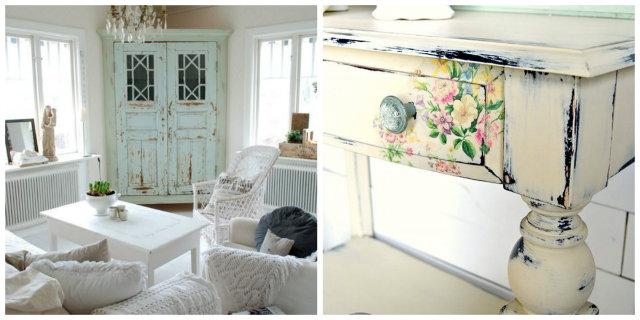 Shabby Chic Fai Da Te: Arreda La Tua Casa In Modo Romantico