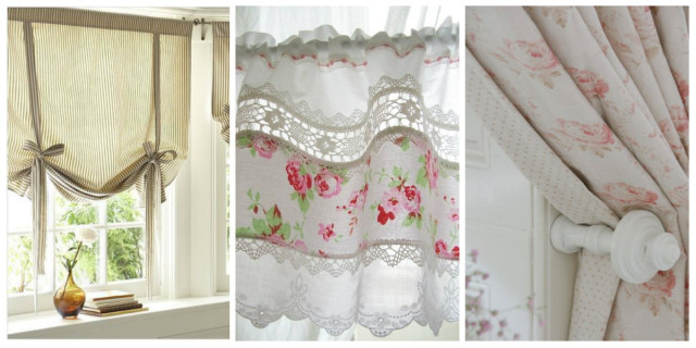 Shabby chic fai da te per la tua casa roba da donna for Tende country chic