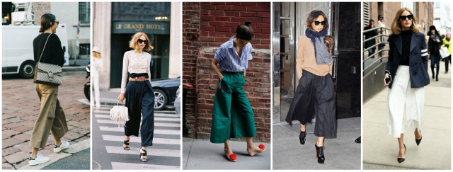 f5876421c172 Pantaloni culotte: i modelli più belli - Roba da Donne