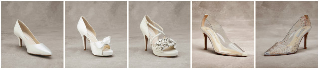 Scarpe da sposa 2016 Pronovias