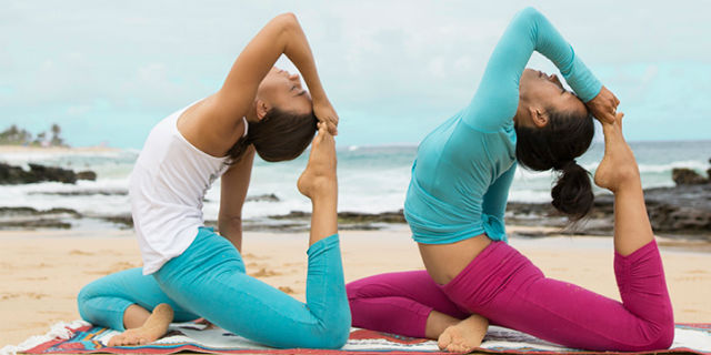 Abbigliamento yoga dinamico