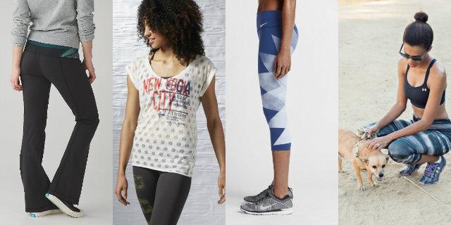 Abbigliamento yoga sportivo
