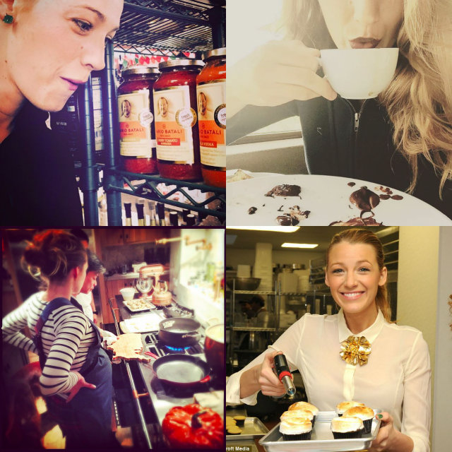 Fonte: Instagram @blakelively / Barcroft Media