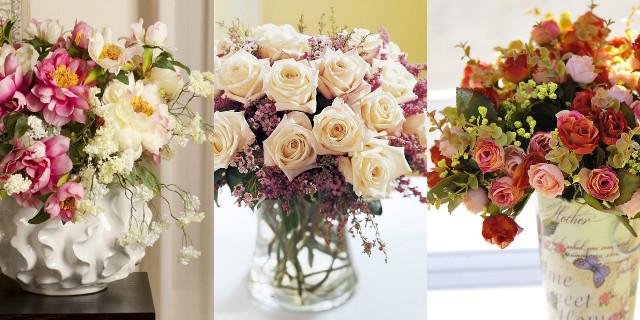 Composizioni floreali artificiali: semplicemente perfette