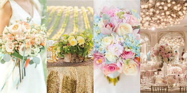 Decorazioni floreali matrimonio tendenze 2016