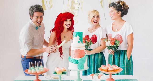 Matrimonio Tema Sirenetta : Volete un matrimonio originale le migliori idee per