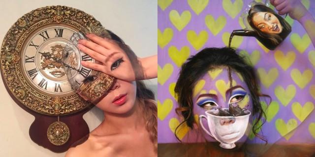 Quando il make up si fa illusione. La straordinaria arte di Dain Yoon fa impazzire il web