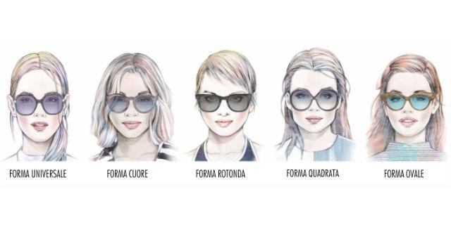 Come scegliere gli occhiali da sole perfetti in base alla forma del viso
